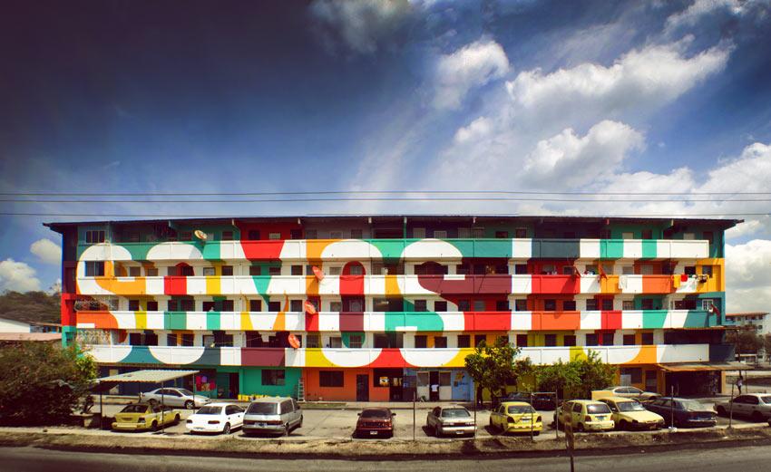 Boa Mistura,colectivo de artistas urbanos