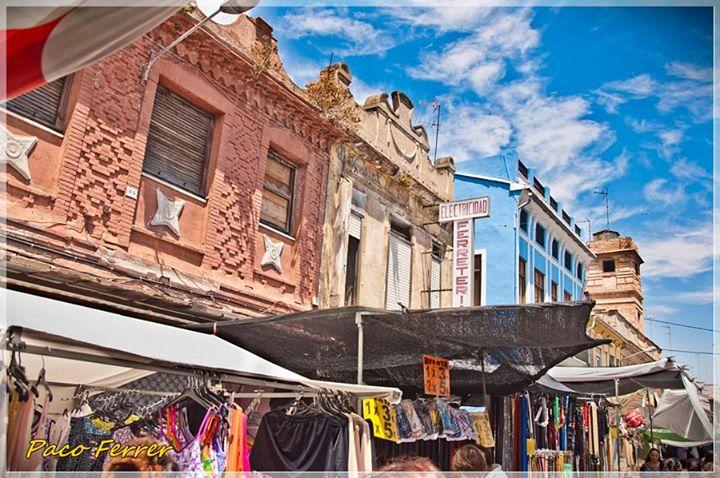 Mercado de El Cabañal de los jueves.